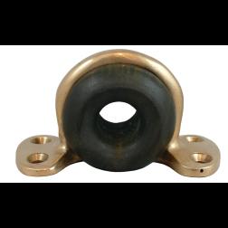 Bullseye Fairleads - Bronze Eyestrap & Lignum Vitae