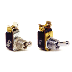 Toggle Switches: Single Pole, Two Terminal
