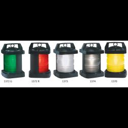 Figs. 1369-1374 - Black Plastic Commercial Navigation Lights