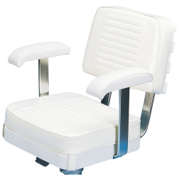 Deluxe Ladder-Back Captain's Chair