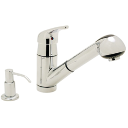 Pacifica- Pull-Out Galley Faucet w/Soap Dispenser