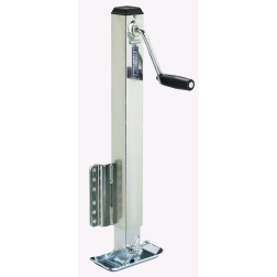 Square Tube, Fixed Mount Sidewind Jack - 2,500 lb Capacity