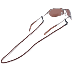 Braided Leather Sunglass Retainer