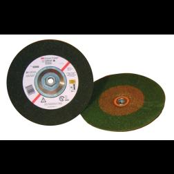 Green Corps Depressed Threaded Center Grinding Wheel