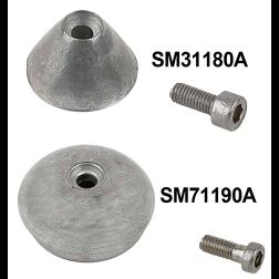 Bow Thruster Aluminum Anode