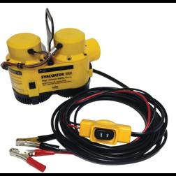 Evacuator High Capacity 12 Volt Utility Pump - 8000 GPH