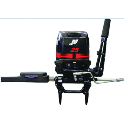 Through Tilt Tube Electro Steer T5 Freshwater and Saltwater