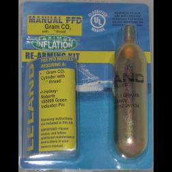 840AMU Manual Inflatable PFD CO2 ReArming Kit