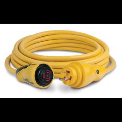 30 Amp 125V EEL ShorePower Cordsets - Yellow