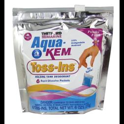 Aqua-Kem Marine Toss-Ins - Holding Tank Deodorant Dissolving Packets
