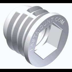 PC-F1 Fastmount Standard Clip - Self-Tapping Female Socket