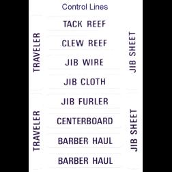 CONTROL LINE LABELS