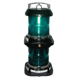 Aqua Signal Series 70 Double Lens Commercial Navigation Light - All-round, Green