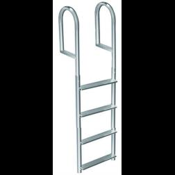 Dock Edge Aluminum Fixed Ladder - 4 Step