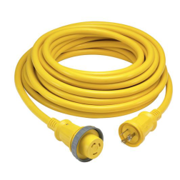 hbl61cm03 of Hubbell 30 Amp Shore Power Cordsets - Yellow