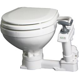AquaT Marine Manual Toilet