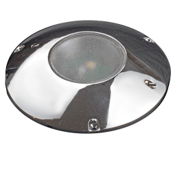 "Lunasea Lighting 5-1/2"" LED Surface Mount Light - High / Low Warm White Output"