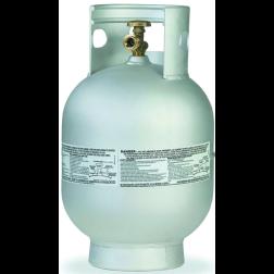 Vertical Aluminum Propane Cylinders - 10 lb (2.3 Gal)