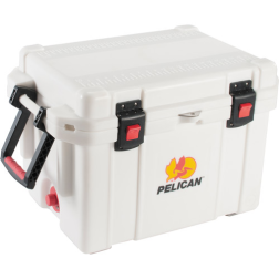 angle view of Pelican 45 Qt Elite Marine Cooler