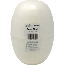 Rope Float - White PVC