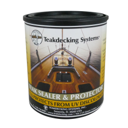 quart of Teak Decking Systems Teak Sealer and Protector