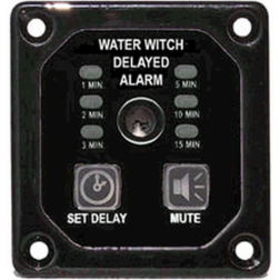Water Witch PA300 Programmable Bilge Blower Alarm with Mute Control - Square