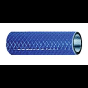 Series 165 Reinforced PVC Hose - Blue, FDA Approved
