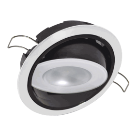 "3-1/4"" Positionable Mirage LED Recessed Mount Down Light"