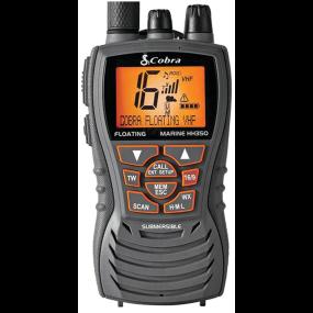 MR HH350 FLT - 6 Watt Floating VHF Radio, Grey
