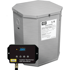 15 kVA, 32A UL Listed Marine Isolation Transformers - 50/60 Hz w/ ISO-Boost