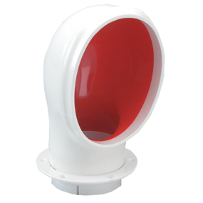 Standard Height Oval PVC Cowl Vent