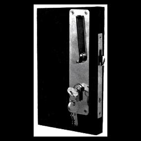 Mortise Sliding Door Lock - 3487T