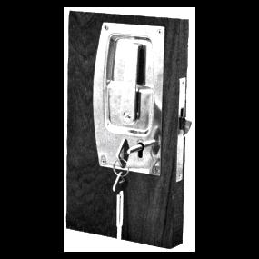 Mortise Sliding Door Lock - 3448T