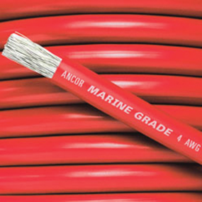 4 Thru 1 AWG Battery Cable