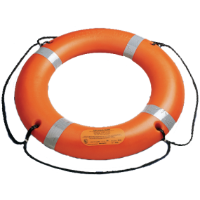 """30"""" Ring Buoy with SOLAS Reflective Tape"""