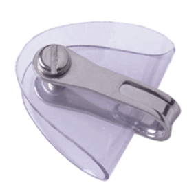 5/8 CLEAR PLASTIC SHACKLE PROTECTOR