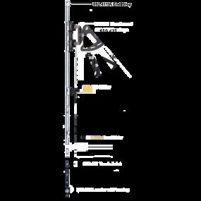 HS Mast Slider System - Size 50