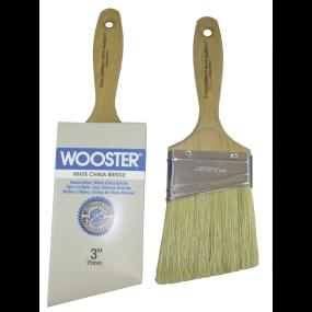 Lindbeck® White Majestic™ - Angle Varnish Brush