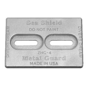 Slotted Plate Anodes - Zinc