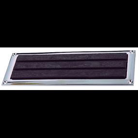 Step Plates with Chrome Plated Zinc Alloy Frames