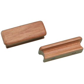 Rectangular Teak Drawer Knob