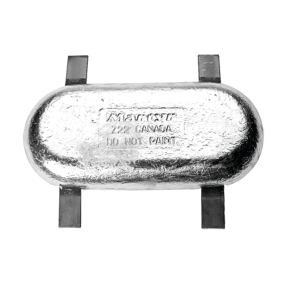 Commercial Streamlined Anodes - Zinc