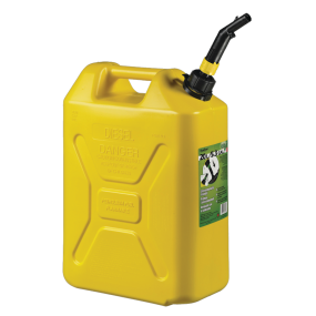 5.3 Gallon Military Style Spill-Proof EPA / CARB Jerry Can for Diesel