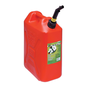 5.3 Gallon Military Style Spill-Proof EPA / CARB Jerry Can for Gasoline