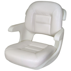 ELITE HELM SEAT LOW BACK WHITE