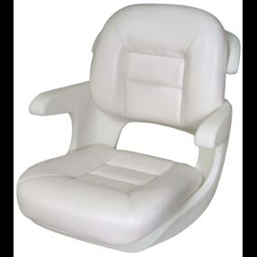 ELITE HELM SEAT LOW BACK WHITE