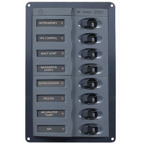 901V DC Circuit Breaker Panel