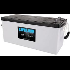 12V Lifeline 4D AGM 12V Deep Cycle Batteries