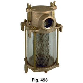 Intake Water Strainers