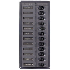 902NMV DC Circuit Breaker Panel